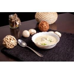 Суп сливочный с шампиньонами